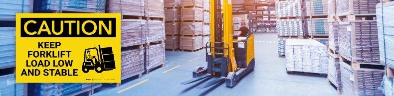 Keep Forklift Load Safe